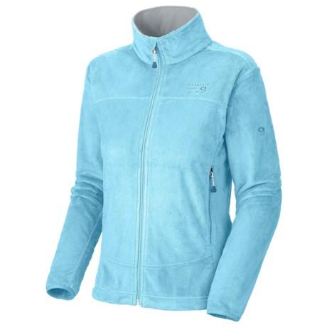 Mountain Hardwear Pyxis Fleece Jacket (For Women) in Dragonfly