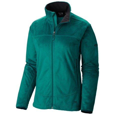 Mountain Hardwear Pyxis Fleece Jacket (For Women) in Emerald