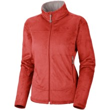 Mountain Hardwear Pyxis Fleece Jacket (For Women) in Poppy Red - Closeouts