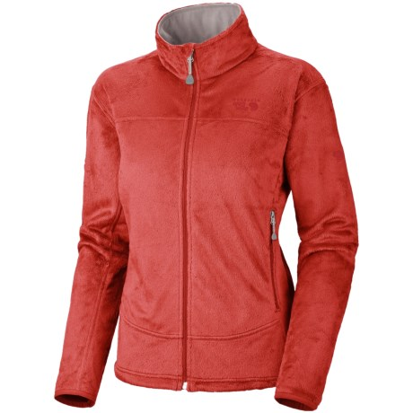 Mountain Hardwear Pyxis Fleece Jacket (For Women) in Poppy Red