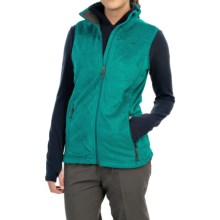 Mountain Hardwear Pyxis Fleece Vest (For Women) in Emerald - Closeouts
