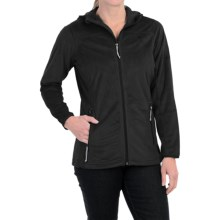 Mountain Hardwear Pyxis Hooded Fleece Jacket (For Women) in Black - Closeouts
