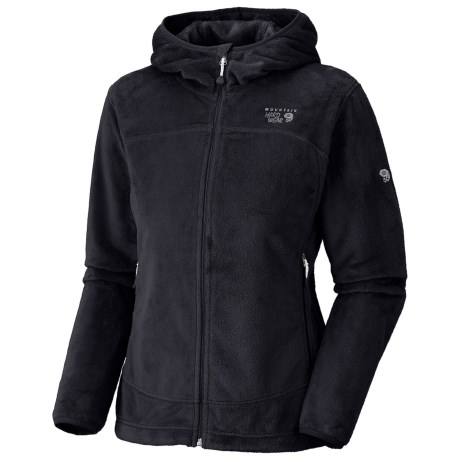 Mountain Hardwear Pyxis Hoodie Jacket - Fleece (For Women) in Black
