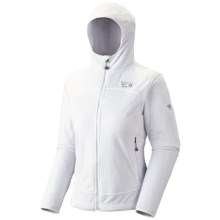Mountain Hardwear Pyxis Hoodie Jacket - Fleece (For Women) in Casper - Closeouts