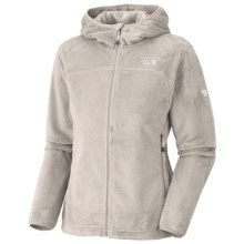 Mountain Hardwear Pyxis Hoodie Jacket - Fleece (For Women) in Dolomite - Closeouts
