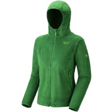 Mountain Hardwear Pyxis Hoodie Jacket - Fleece (For Women) in Leprechaun - Closeouts