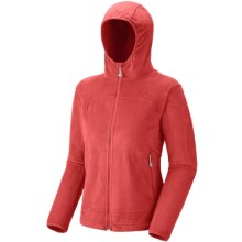 Mountain Hardwear Pyxis Hoodie Jacket - Fleece (For Women) in Poppy Red - Closeouts
