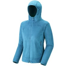 Mountain Hardwear Pyxis Hoodie Jacket - Fleece (For Women) in Skybox - Closeouts