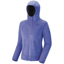 Mountain Hardwear Pyxis Hoodie Jacket - Fleece (For Women) in Violet Storm - Closeouts