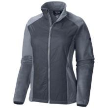 Mountain Hardwear Pyxis Hybrid Fleece Jacket (For Women) in Tradewinds Grey - Closeouts