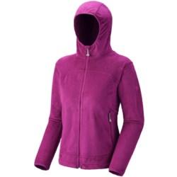 Mountain Hardwear Pyxis Jacket - Fleece (For Women) in Black