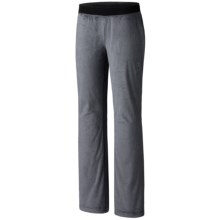 Mountain Hardwear Pyxis Pants - Fleece (For Women) in Graphite - Closeouts