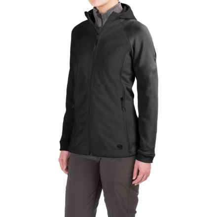 Mountain Hardwear Pyxis Stretch Fleece Jacket (For Women) in Black - Closeouts