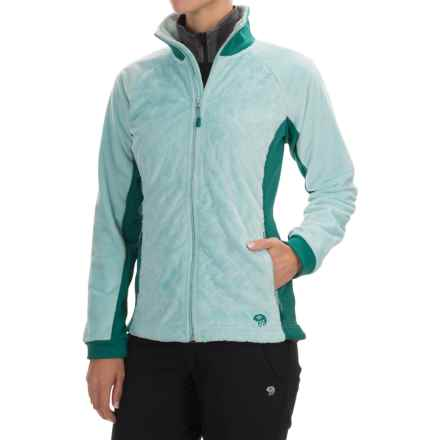 Mountain Hardwear Pyxis Stretch Fleece Jacket (For Women) in Spray/Teal Green - Closeouts