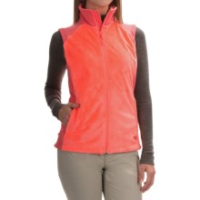 Mountain Hardwear Pyxis Stretch Fleece Vest (For Women) in Coralescent - Closeouts