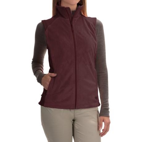 Mountain Hardwear Pyxis Stretch Fleece Vest (For Women) in Purple Plum