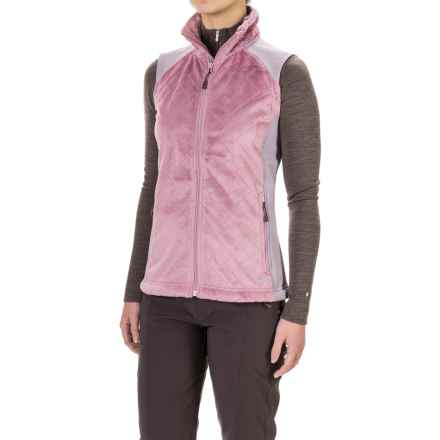 Mountain Hardwear Pyxis Stretch Quilted Vest - Fleece (For Women) in Dusty Orchid - Closeouts