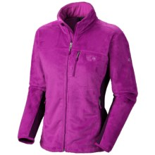Mountain Hardwear Pyxis Tech Fleece Jacket (For Women) in Berry Jam/Dark Plum - Closeouts