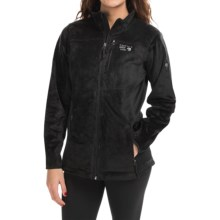 Mountain Hardwear Pyxis Tech Fleece Jacket (For Women) in Black - Closeouts