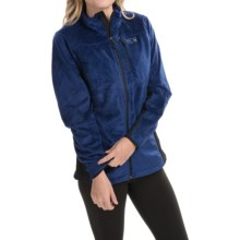 Mountain Hardwear Pyxis Tech Fleece Jacket (For Women) in Cousteau/Black - Closeouts