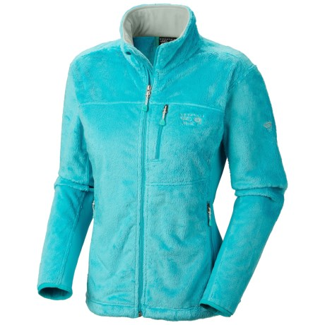 Mountain Hardwear Pyxis Tech Fleece Jacket (For Women) in Geyser