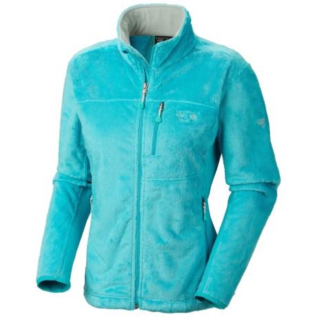 Mountain Hardwear Pyxis Tech Fleece Jacket (For Women) in Geyser