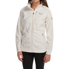 Mountain Hardwear Pyxis Tech Fleece Jacket (For Women) in Sea Salt - Closeouts
