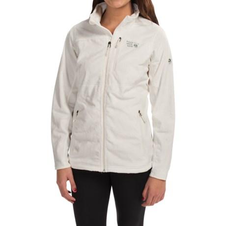 photo: Mountain Hardwear Pyxis Tech Jacket fleece jacket