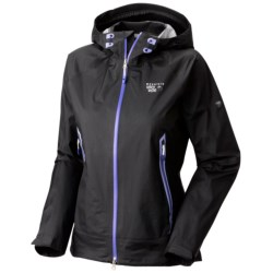 Mountain Hardwear Quasar Dry.Q Elite Jacket - Waterproof (For Women) in Black