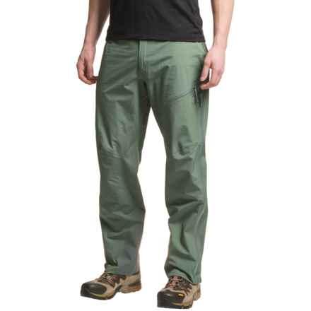Mountain Hardwear Quasar Dry.Q® Elite Lite Pants - Waterproof (For Men) in Thunderhead Grey - Closeouts