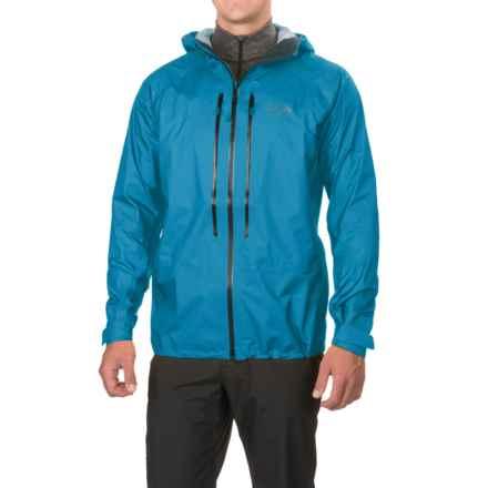 Mountain Hardwear Quasar II Dry.Q® Elite Jacket - Waterproof (For Men) in Dark Compass - Closeouts