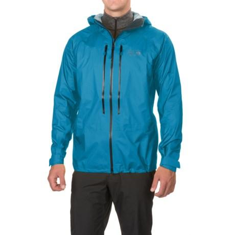 Mountain Hardwear Quasar II Dry.Q® Elite Jacket - Waterproof (For Men) in Dark Compass
