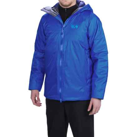 Mountain Hardwear Quasar Jacket - Waterproof, Insulated (For Men) in Azul - Closeouts