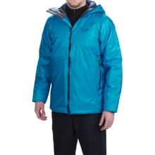 Mountain Hardwear Quasar Jacket - Waterproof, Insulated (For Men) in Dark Compass - Closeouts