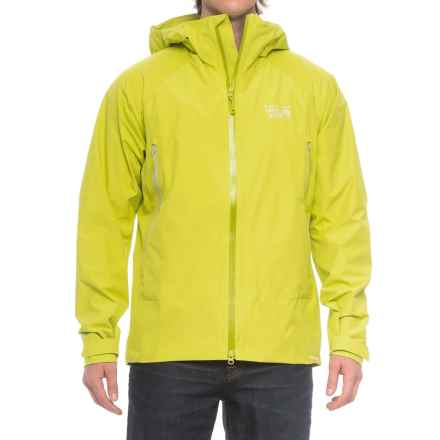 Mountain Hardwear Quasar Lite Dry.Q® Elite Jacket (For Men) in Fresh Bud - Closeouts
