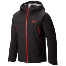 Mountain Hardwear Quasar Lite Dry.Q® Elite Jacket (For Men) in Shark - Closeouts