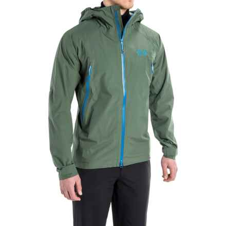 Mountain Hardwear Quasar Lite Dry.Q® Elite Jacket (For Men) in Thunderhead Grey - Closeouts