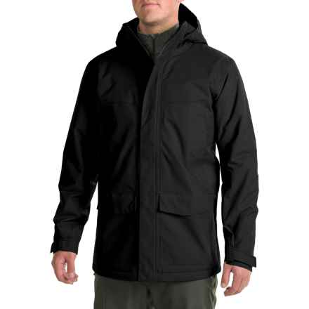 Mountain Hardwear Radian Coat - Waterproof, Insulated (For Men) in Black - Closeouts