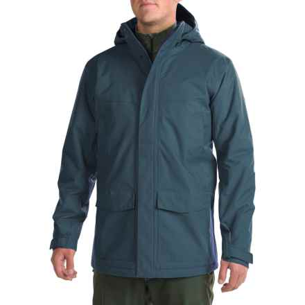 Mountain Hardwear Radian Coat - Waterproof, Insulated (For Men) in Hardwear Navy - Closeouts