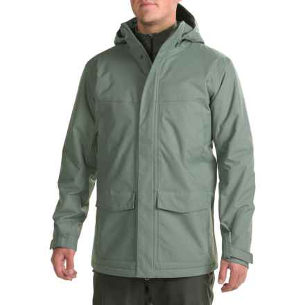 Mountain Hardwear Radian Coat - Waterproof, Insulated (For Men) in Thunderhead Grey - Closeouts