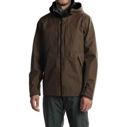 Mountain Hardwear Radian Dry.Q® Core Rain Parka - Waterproof (For Men) in Midnight Brown - Closeouts