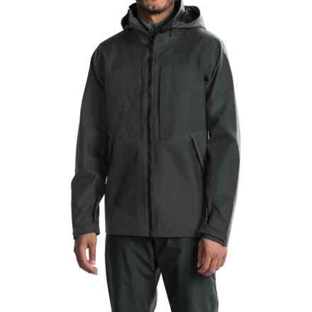 Mountain Hardwear Radian Rain Parka - Waterproof (For Men) in Black - Closeouts