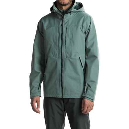 Mountain Hardwear Radian Rain Parka - Waterproof (For Men) in Thunderhead Grey - Closeouts