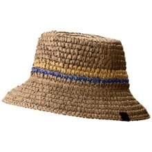 Mountain Hardwear Raffia Bucket Hat (For Women) in Cordovan/Nectar Blue - Closeouts