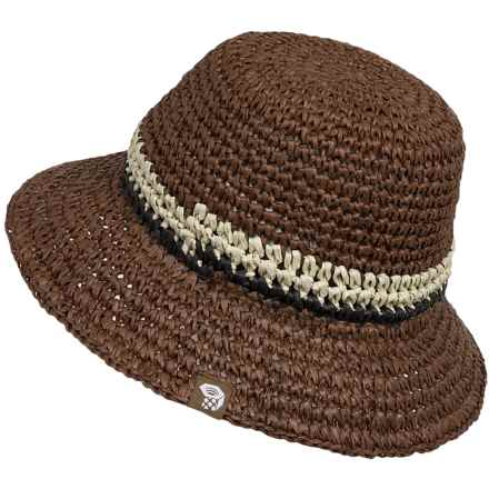 Mountain Hardwear Raffia Bucket Hat (For Women) in Saddle - Closeouts