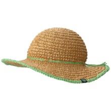 Mountain Hardwear Raffia Crusher II Hat - Cool.Q Zero (For Women) in Crater/Dolphin - Closeouts