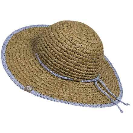 Mountain Hardwear Raffia Crusher II Hat - Cool.Q Zero (For Women) in Khaki - Closeouts