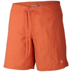 Mountain Hardwear Ramesa Crossing Shorts - UPF 50 (For Women) in Red Canyon