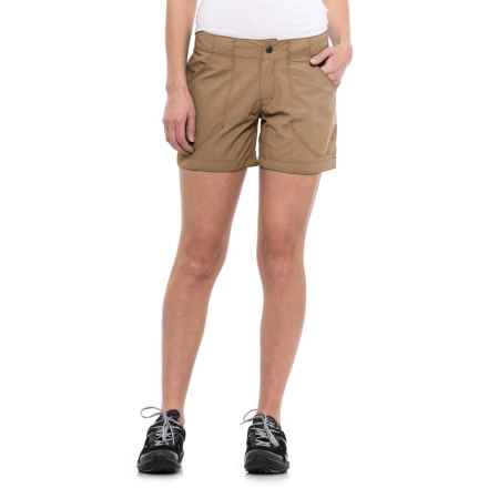 Mountain Hardwear Ramesa Scout Shorts - UPF 50 (For Women) in Sandstorm - Closeouts