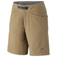 Mountain Hardwear Ramesa Shorts - UPF 50 (For Women) in Dune - Closeouts